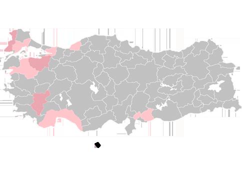 Türkiye HARİTASI